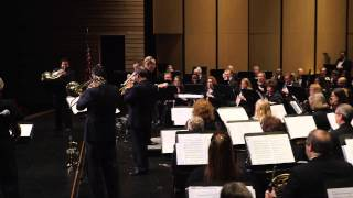 Boston Brass with Austin Symphonic Band Performing Heroes and Legends by Barry E. Kopetz