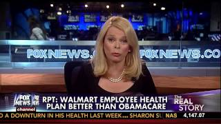 Report: Walmart Employee Health Plan Better Than Obamacare