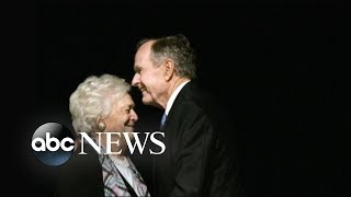 Inside the love story between George and Barbara Bush