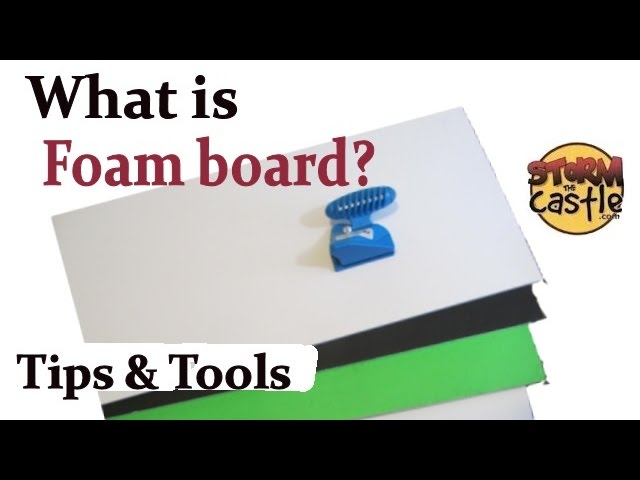 What Is Foam Board Tips And Tools Youtube