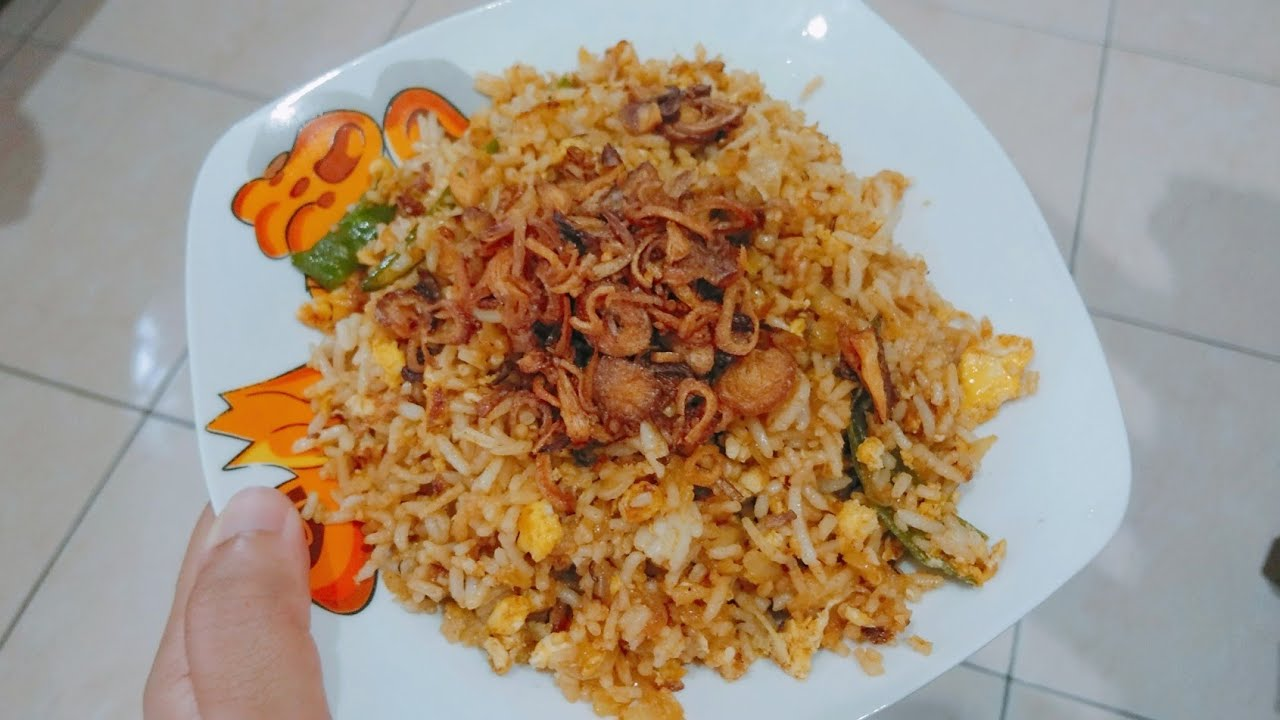 Dapur Bujang 20 Nasi Goreng Tomyam Perencah Adabi