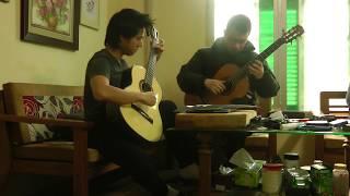 Djisai Duo guitar: Tran An, Vu Hien