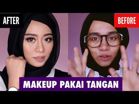 Tutorial Makeup Natural menggunakan tangan ( ngga pakai brush )