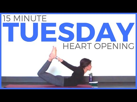 Tuesday - Heart Opening Hatha Yoga Routine | 7 Day Yoga Challenge