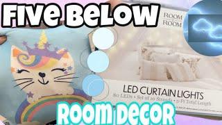 Five Below Room Decor Shopping Winter 2020