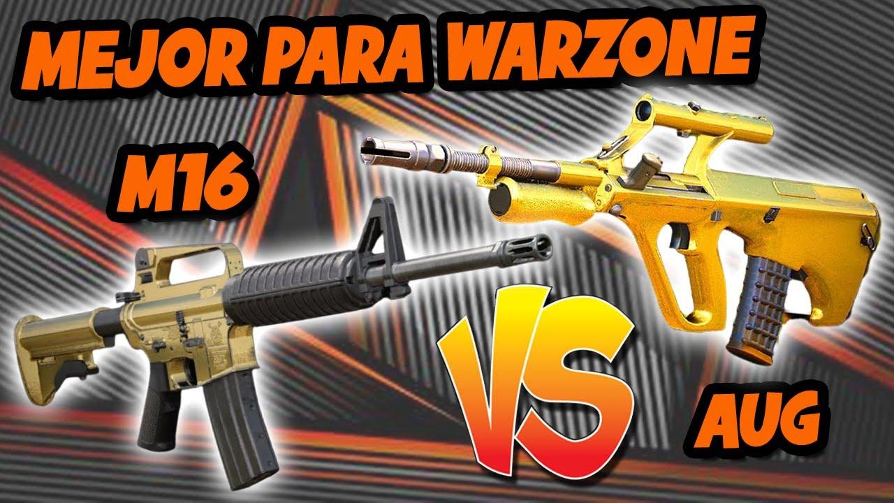 Download M16 vs AUG en WARZONE ¿CUÁL ES MEJOR en la TEMPORADA 2?