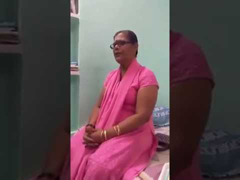 Mrs. Rosey Teacher from Boys Town High school she is Reciting Naat Shareef Umathi Umathi Umathi...