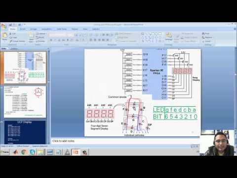 El archivo UCF & el decodificador de 7 segmentos 2. (Verilog & Xilinx) - Hackeando Tec