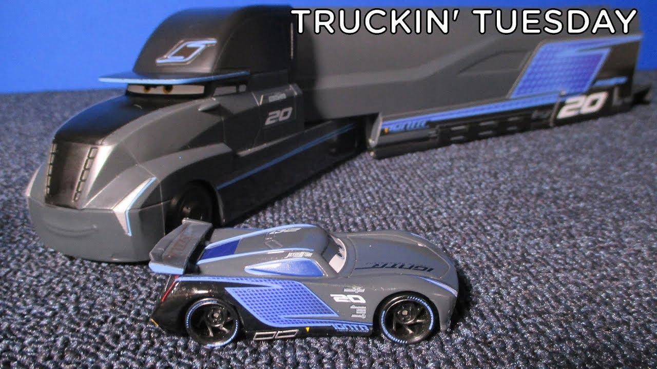 Truckin Tuesday Disney Cars 3 Jackson Storm Transforming Hauler