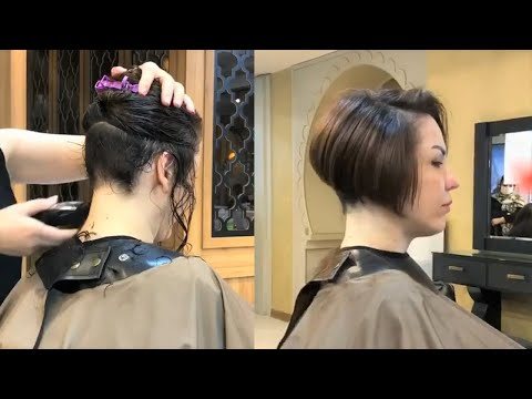most-short-bob-with-nape-undercut-|-haircuts-for-women-|-bob-haircut-with-nape-|-hair-makeover