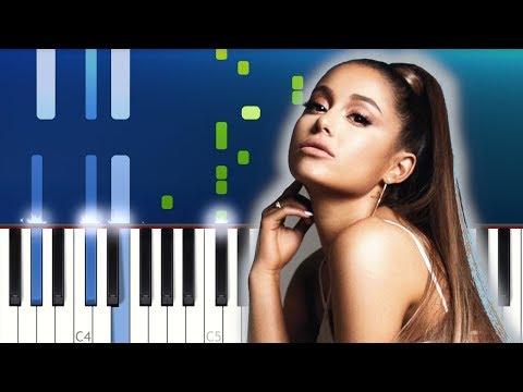 Ariana Grande - 7 rings Piano Tutorial