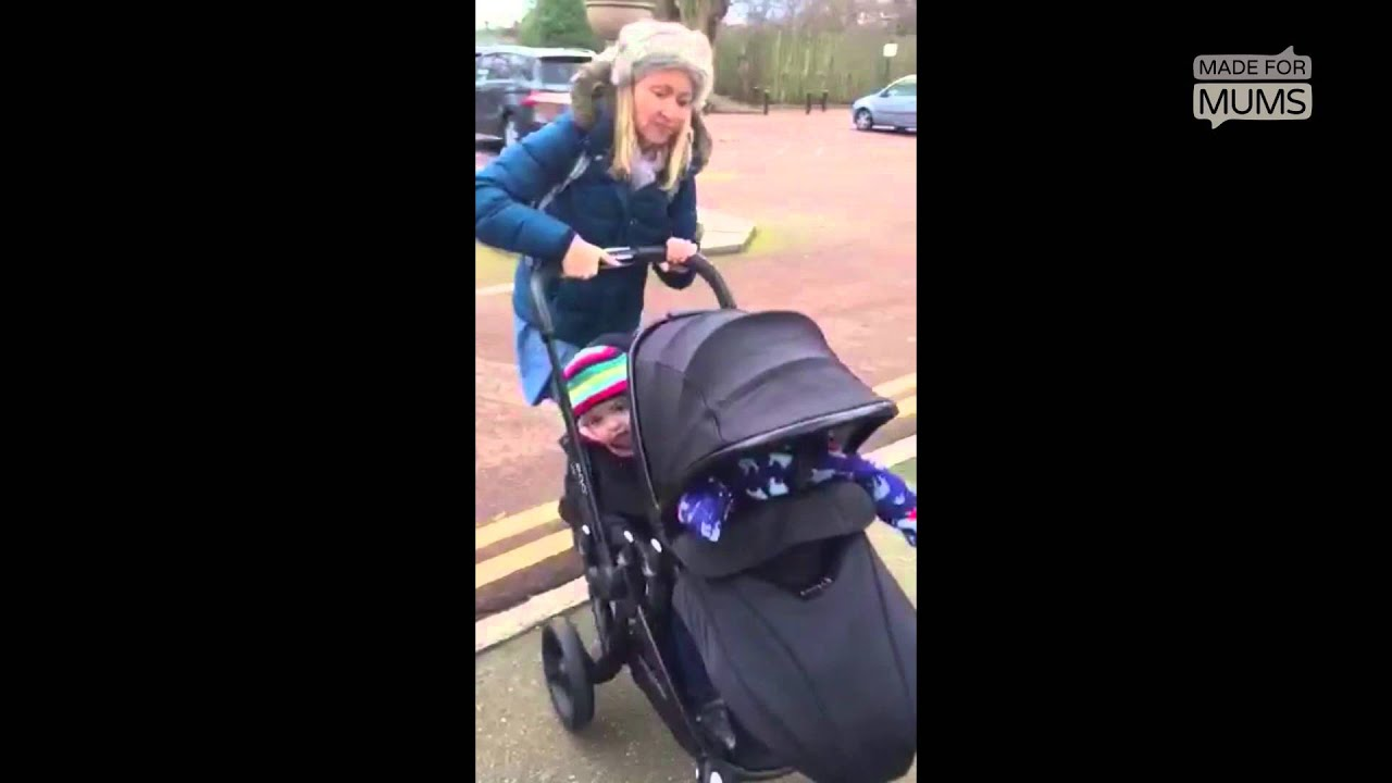 Oyster Double Pram Mothercare Tackling A Kerb With The Babystyle Egg Tandem Madeformums