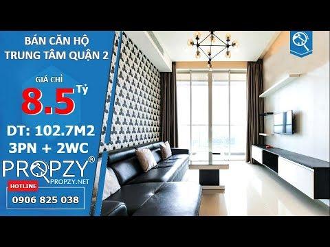 Bán căn hộ tiện nghi Sala Sarimi quận 2, diện tích 103m2 với 3 phòng ngủ | Propzy