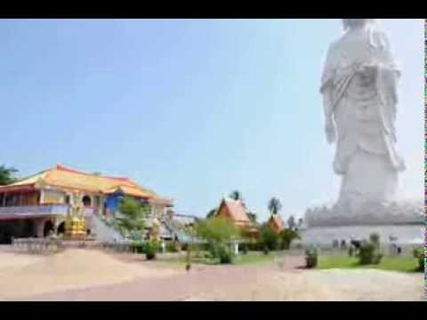 Standing  Buddha , Bachok , Kelantan by De Penarik Beach Travel