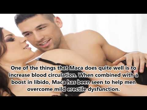 Maca The Best Male Enhancement Sex Booster Ingredient - Benefits of Maca for male enhancement