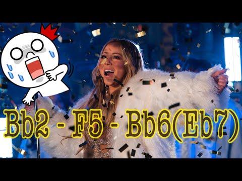 Mariah Carey - New Year's Eve 2018 performance + Bonus vid(showcase 4 octaves)