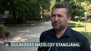 Dulakodás Matolcsy Gyöngyi standjánál 19-09-01