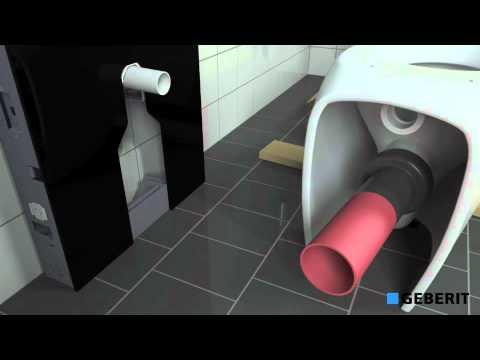 Staand Toilet Vervangen : Geberit monolith vervangingsreservoir voor staand toilet youtube