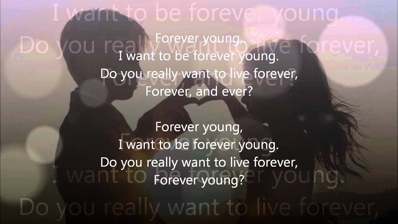 Alphaville - Forever Young (LYRIC + HD sound) - YouTube