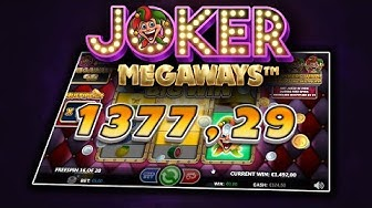 JOKER MEGAWAYS (GAMES INC) ONLINE SLOT