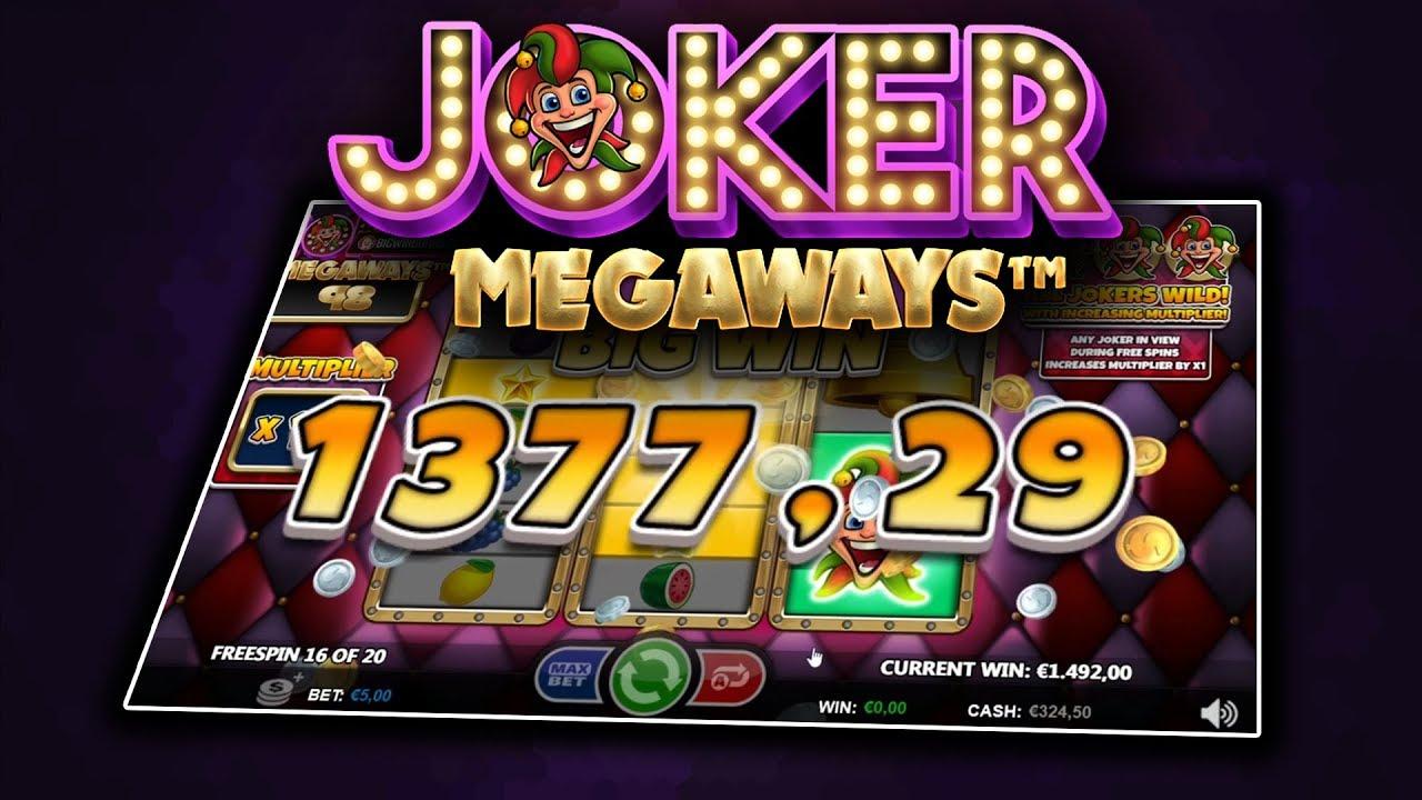 JOKER MEGAWAYS (GAMES INC) ONLINE SLOT - YouTube