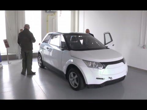 Prototyp pierwszego elektrycznego auta w Mielcu