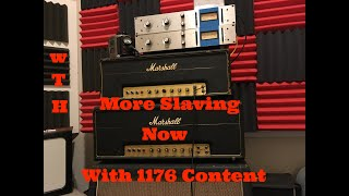 More Slaved Marshall Amp Fun Now With 1176 Abuse!!
