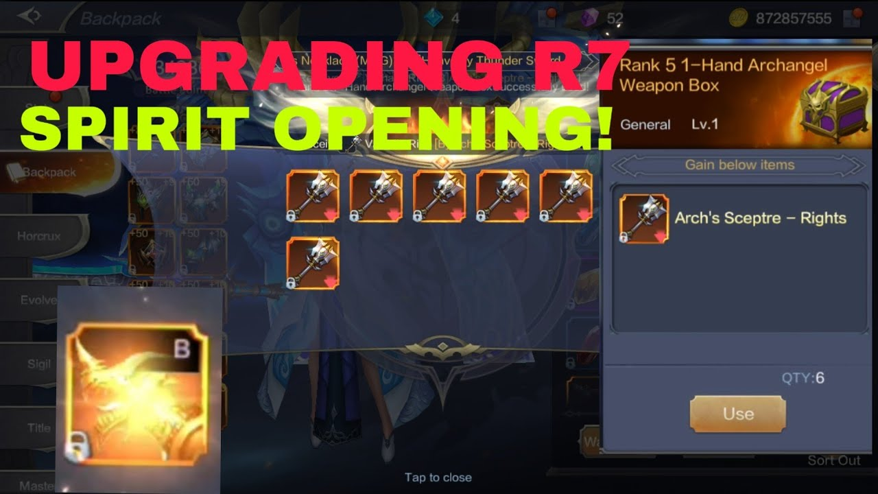 MU ORIGIN 2: UPGRADING R7 AND OPENING SPIRIT LUCKY OR NOT? NEW CODE? -MU ORIGIN 2