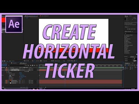 Create a Horizontal