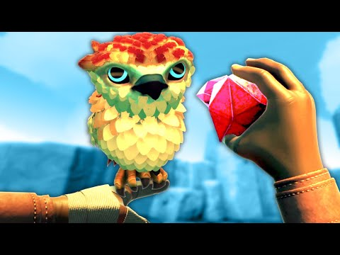 I Trained My Falcon in Falcon Age VR! (Valve Index)  