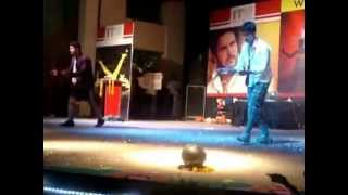 our skit performance in college ip 2012 comic drama itm universe naad amphitheatre gwalior