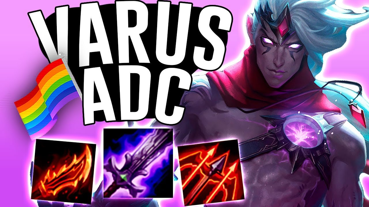 VARUS DOES AMAZING DAMAGE SO EARLY!! - League of Pride - Varus ADC - League  of Legends