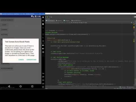 Android coding and using the hardware