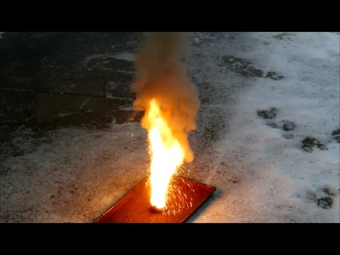 Make Manganese Metal And Thermite From Batteries