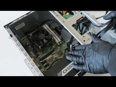 HP Pro 3500 Gaming Upgrade Video Card SSD RAM PSU