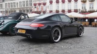 Porsche 997 Carrera 4S MkII w/ Fuchs wheels!! 1080p HD
