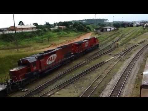 TREM EM PONTA GROSSA - PR. HD - RAILWAYS - By FARINA