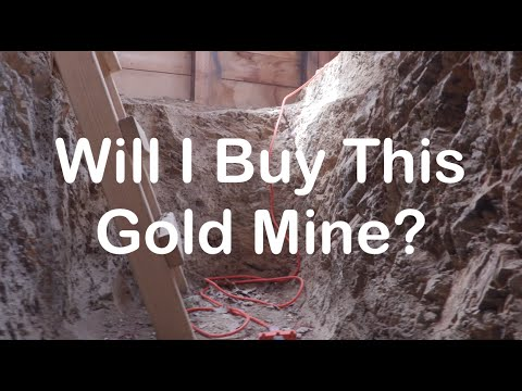Looking at a Hard Rock Gold Mine to Purchase