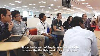 Rakuten Englishnization Project
