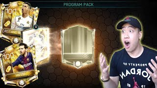 OMG *CLUTCH* PULL!! GOLDEN TICKETS ARE HERE!! FIFA MOBILE 18 UNREAL PROGRAM PACK OPENING!!
