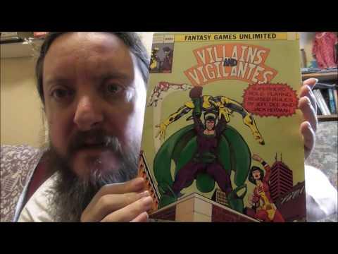 Geek Tee Friday - Villains & Vigilantes