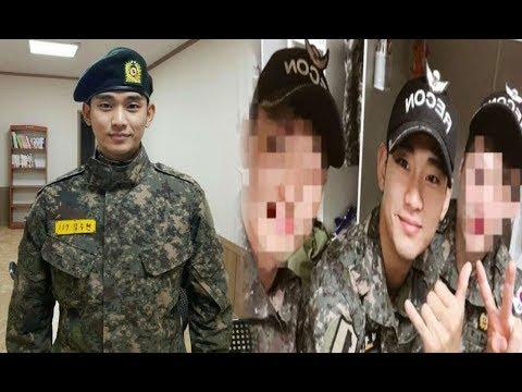 Semakin Tampan!! Beredar Potret Terbaru Kim Soo Hyun Di Militer