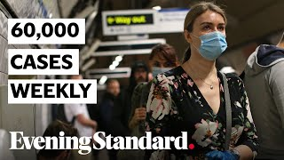 UK: 60,000 new Covid-19 cases weekly in England official statistics say | Coronavirus