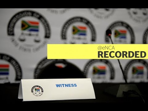 Gwede  Mantashe testifies at the state capture inquiry