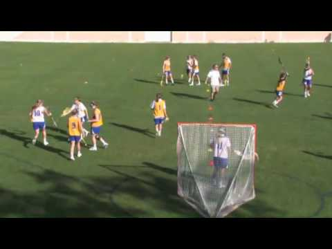 Teach Players to Double the Ball! - Lacrosse 2016 #38