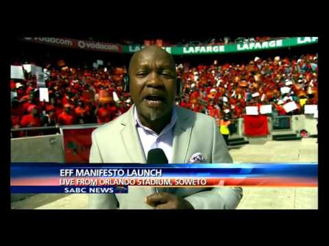 All systems go for EFF's Manifesto Launch at Orlando Stadium, Soweto
