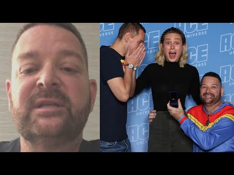 Man Who Proposed In Front of Brie Larson Speaks Out (Exclusive)