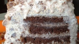 Multi Layered Ice-cream Cake ( Cake Sheets Made On Stove Top) | Poonam's Kitchen