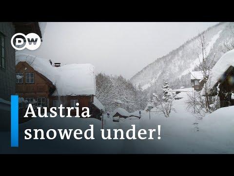 I disagi della neve in Austria