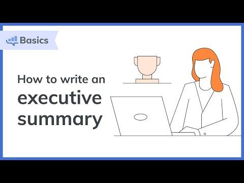 How to Write an Executive Summary | Bplans.com